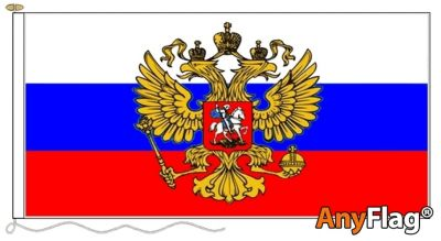 -RUSSIA CREST ANYFLAG RANGE - VARIOUS SIZES